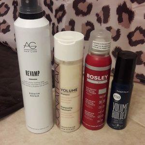 Haircare volumizing lot ag bosley dry shampoo